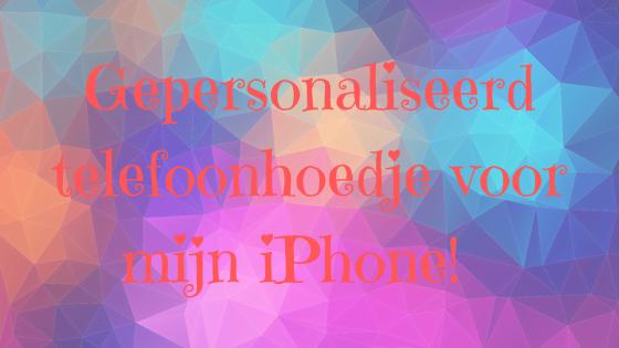 Review gepersonaliseerd telefoonhoesje