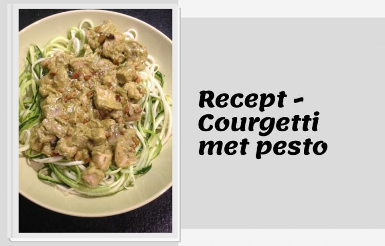Recept courgetti met pesto-2