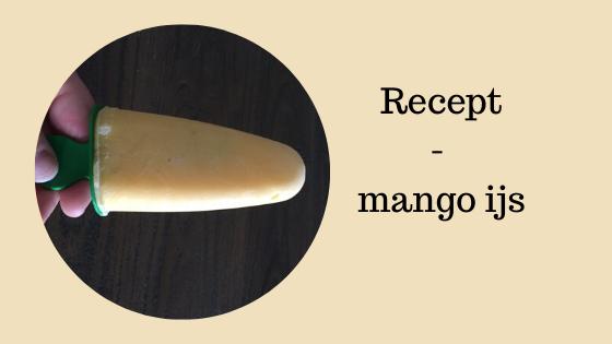 Recept mango ijs