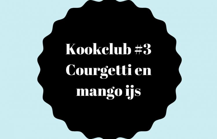 Kookclub 3 courgetti en mango ijs