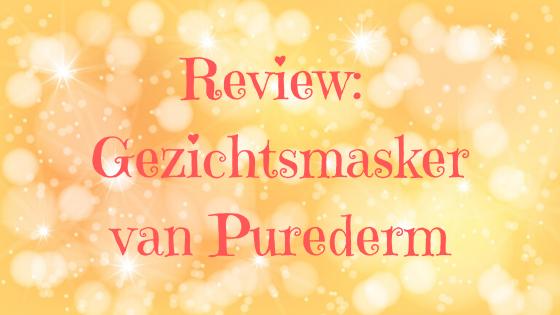 Review Gezichtsmasker Purederm