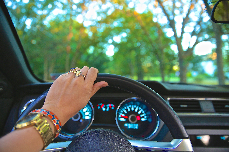 auto rijden, geen auto