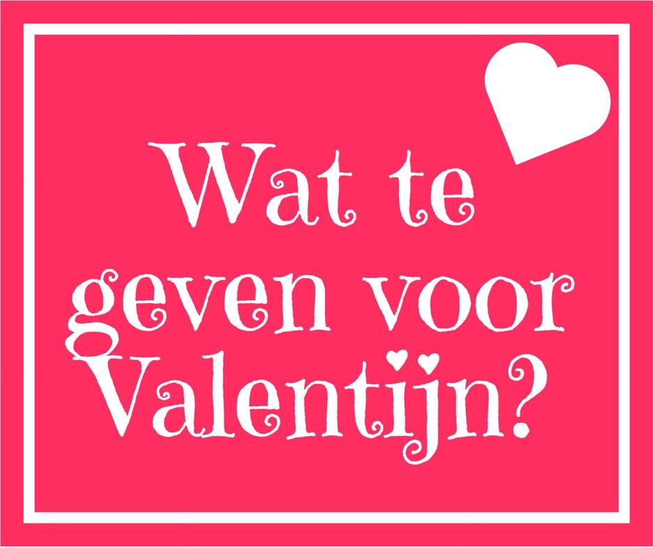 cadeautips voor valentijn