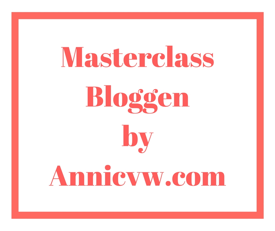 Masterclass bloggen