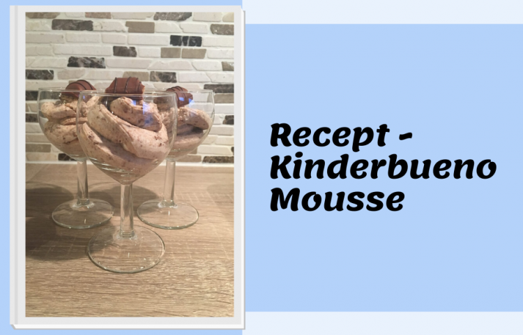 Recept Kinderbueno mousse