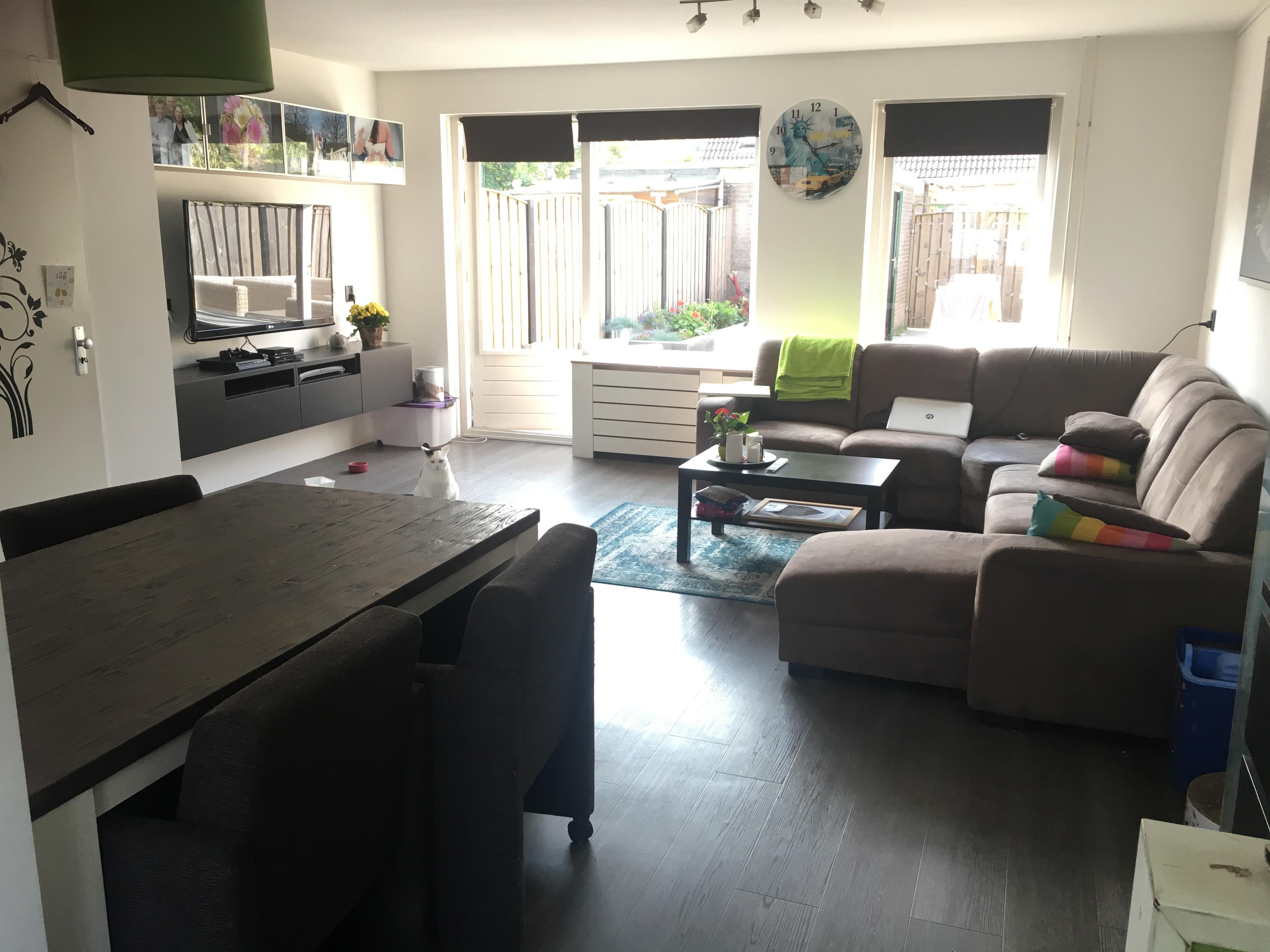 Nieuwe woonkamer, klusweek