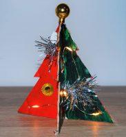 Visiondirect knutseligekerst, DIY kerstboom knutselen