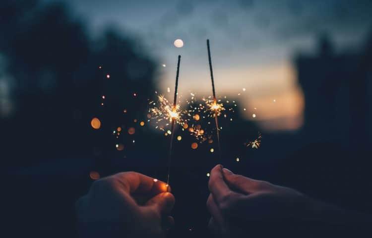 vuurwerk oudejaarsdag