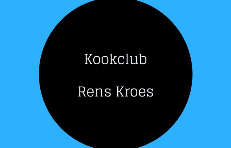 Kookclub Rens Kroes