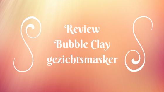 Bubble Clay gezichtsmasker