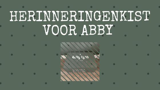 Herinneringenkist voor Abby